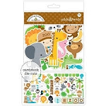 At the Zoo Odds & Ends Die Cuts