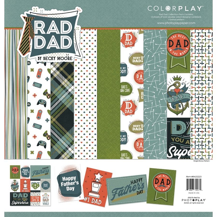 PhotoPlay - Rad Dad - Paper Pack 12x12