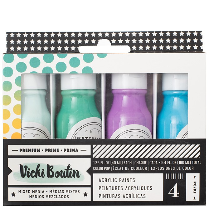 VB - ALL THE GOOD THINGS - ACRYLIC COLOR POP PAINT - SET 2 - (4 PIECES)