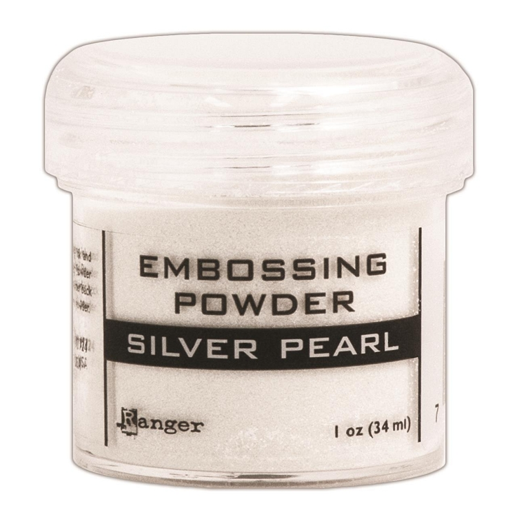Ranger Embossing Powder Silver Pearl