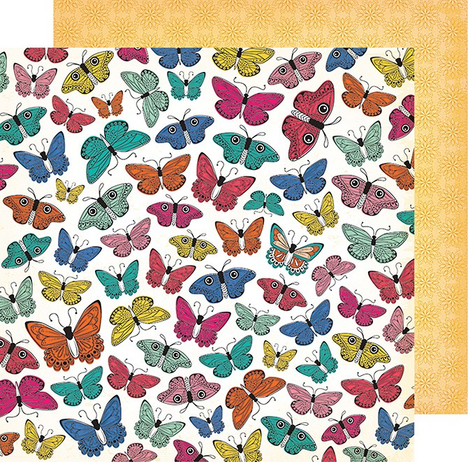 VB - ALL THE GOOD THINGS - 12X12 - SOCIAL BUTTERFLY