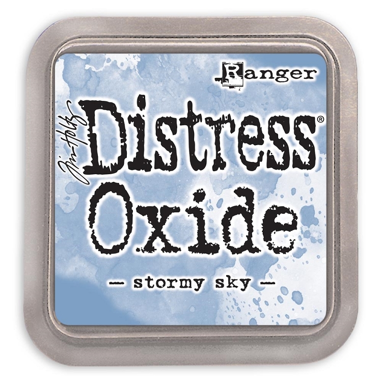 Tim Holtz Distress Oxide Ink Pad Stormy Sky
