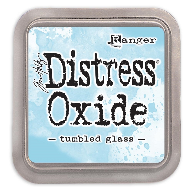 Tim Holtz Distress Oxide Ink Pad Tumbled Glass