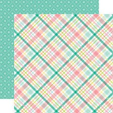 Hello Easter - Spring Plaid