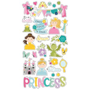 Little Princess - 6x12 Chipboard