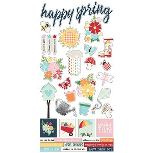 Springtime - 6x12 Sticker