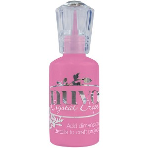 Crystal Nuvo Drops Carnation Pink
