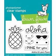 Aloha Stamp and Die Set