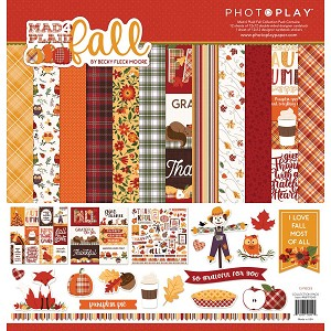 Mad Plaid Fall -Collection Kit 12x12