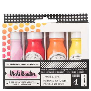 VB - ALL THE GOOD THINGS - ACRYLIC COLOR POP PAINT - SET 1 - (4 PIECES)
