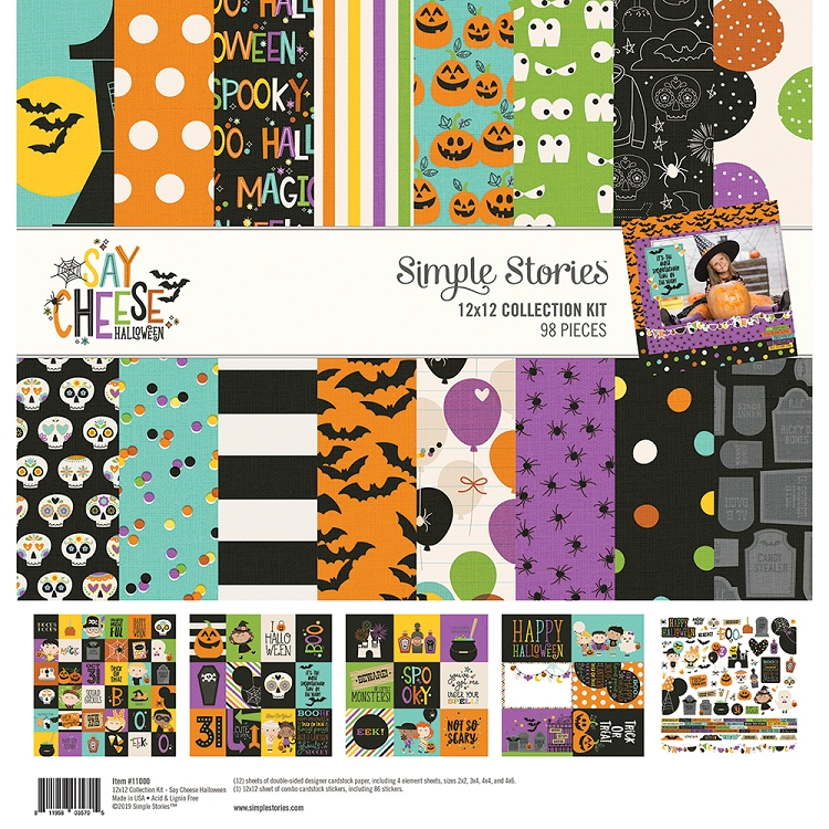 Say Cheese Halloween - 12x12 Collection Kit
