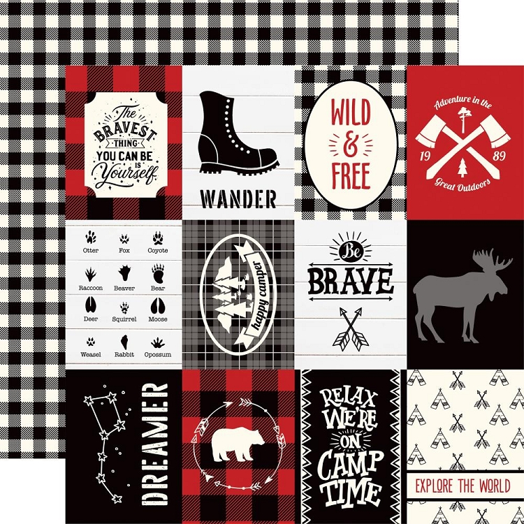 EP Little Lumberjack - 3x4 Journaling Cards