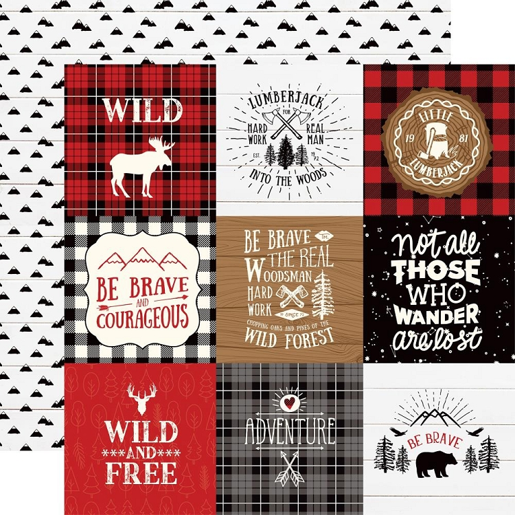 EP Little Lumberjack - 4x4 Journaling Cards