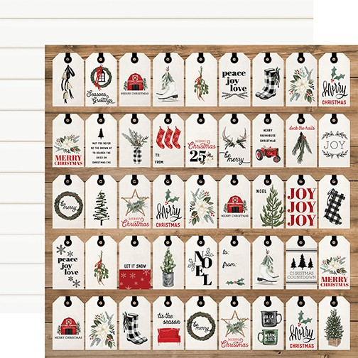 CB Farmhouse Christmas - Gift Tags