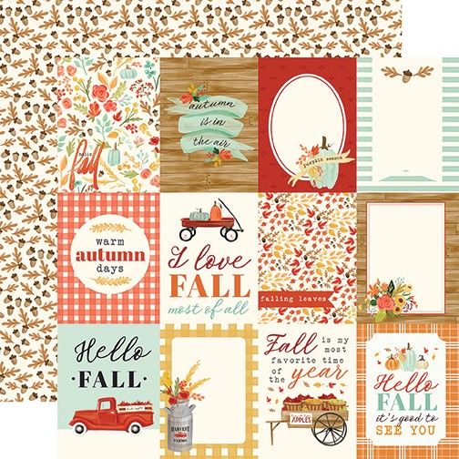 Fall Market - 3X4 Journaling Cards