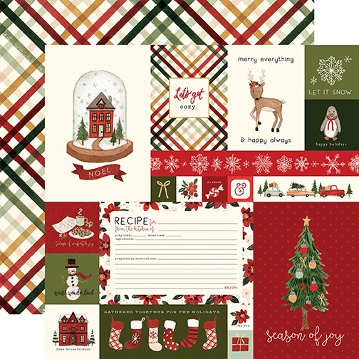 CB Hello Christmas - Journaling Cards