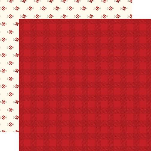 CB Hello Christmas - Red Plaid