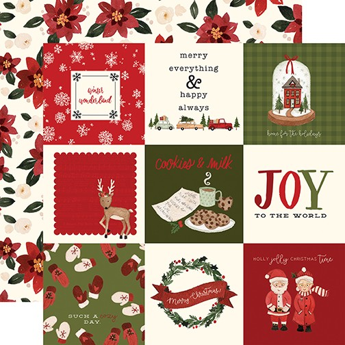 CB Hello Christmas - 4x4 Journaling Cards