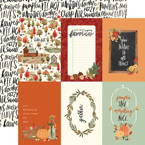 CB Hello Autumn - 4x6 Journaling Cards