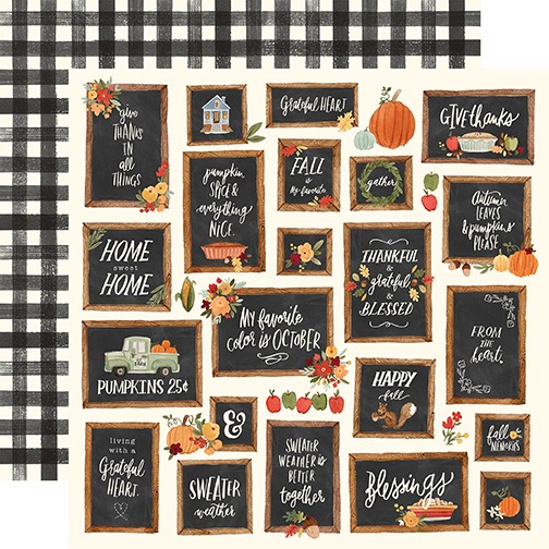 CB Hello Autumn - Give Thanks Boards