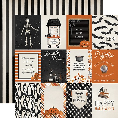 CB Halloween Market - 3x4 Journaling Cards