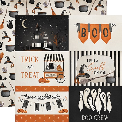 CB Halloween Market - 4x6 Journaling Cards