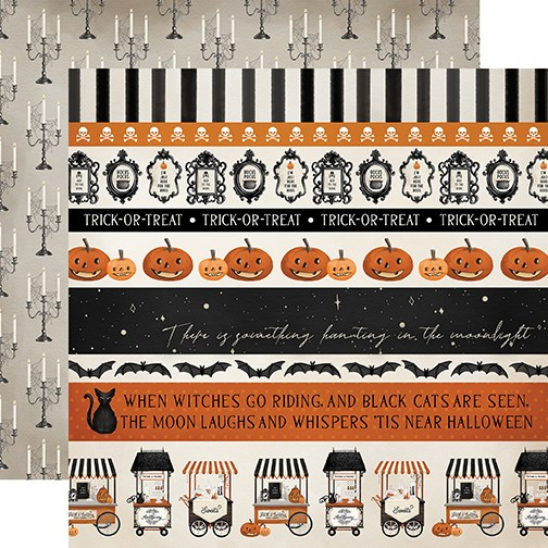 CB Halloween Market - Border Stripes