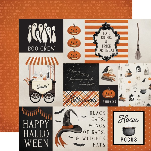 CB Halloween Market - Multi Journaling Cards