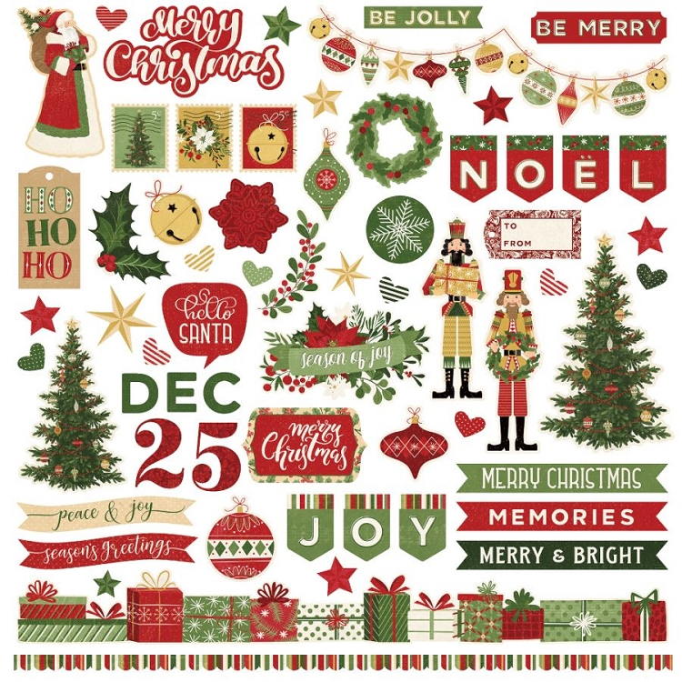 Christmas Memories - Sticker Sheet