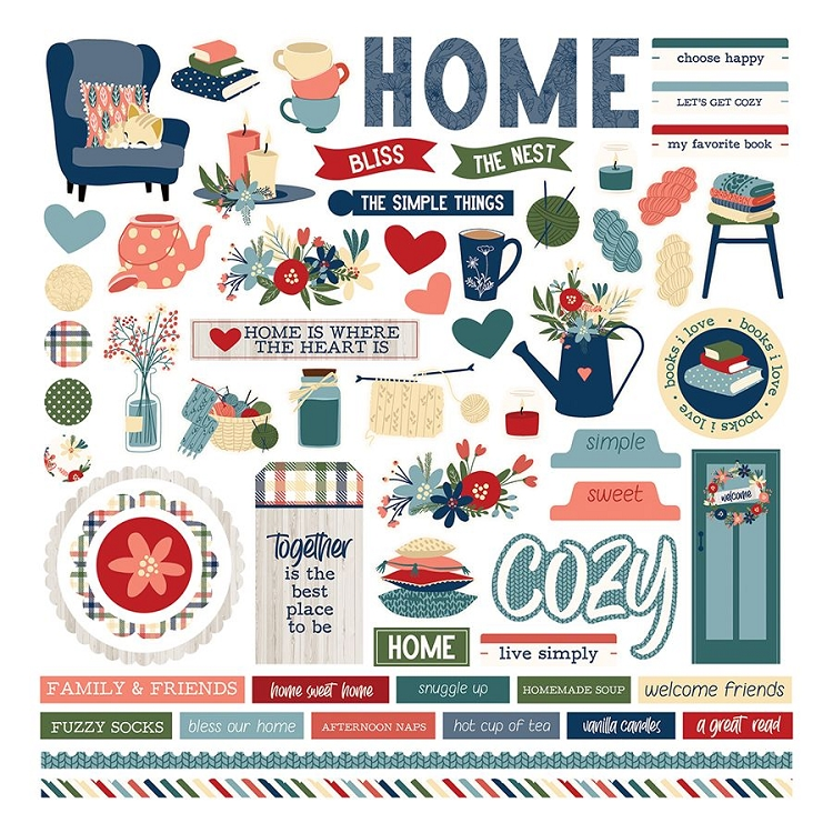 PP Heart & Home - Element Sticker 12x12