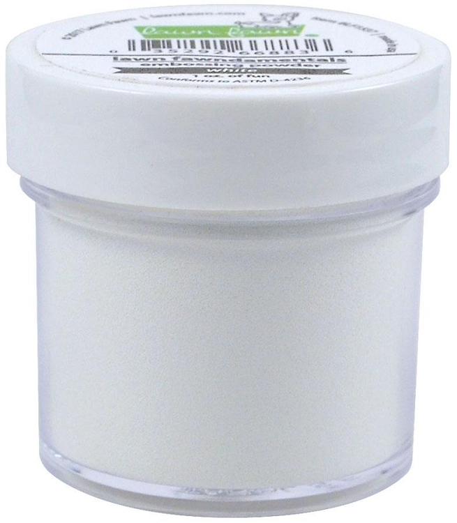 Lawn Fawn Embossing Powder- White