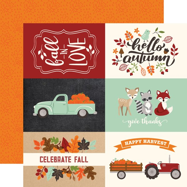 My Favorite Fall - 4x6 Journaling Cards