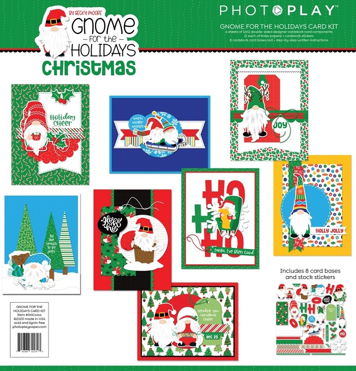 PP Gnome for the Holidays Christmas Card Kit