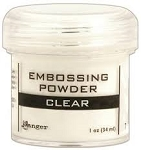 Ranger Embossing Powder Clear