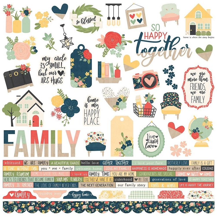 So Happy Together Combo Sticker Sheet