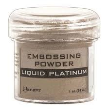 Ranger Embossing Powder Liquid Platinum