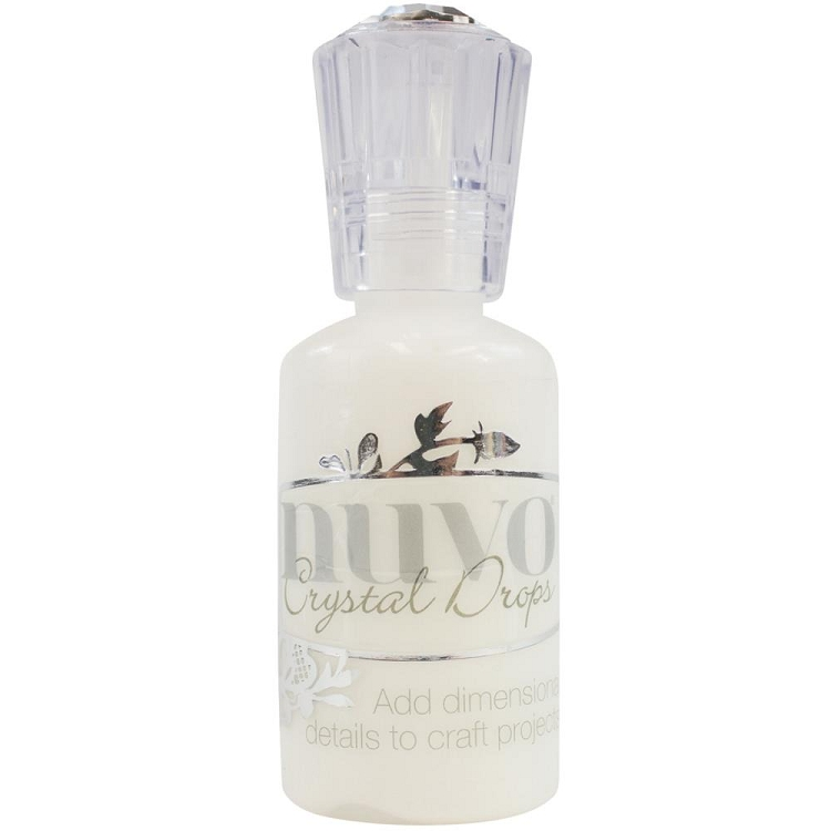 Nuvo Crystal Drops 1.1oz - Gloss White