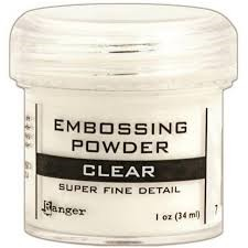 Ranger Embossing Powder Super Fine Clear
