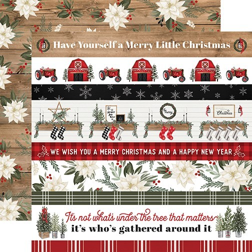 CB Farmhouse Christmas - Border Stripes