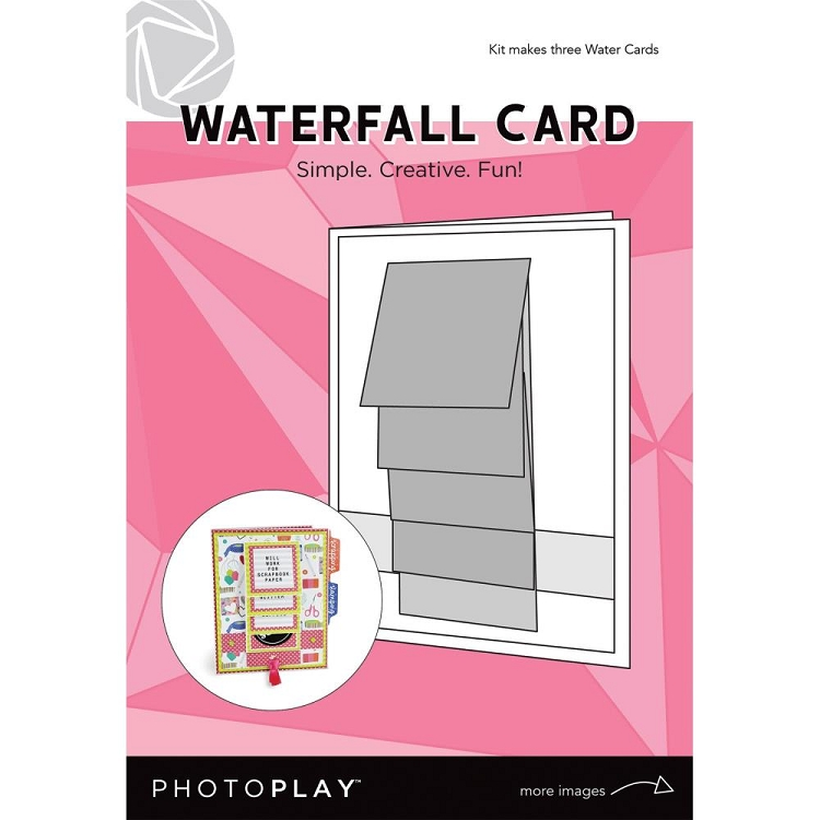 Maker Series - Waterfall Card - Makes 3 cards